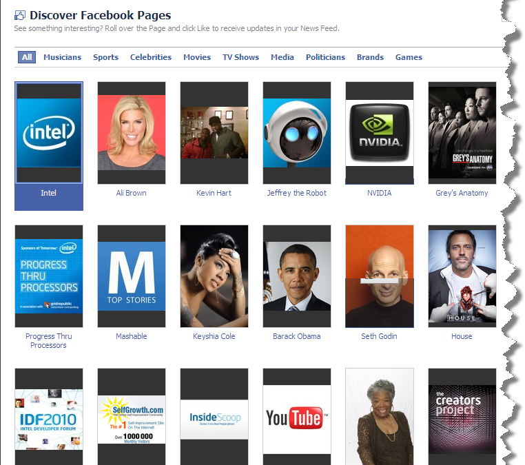 Facebook Launches Page Browser